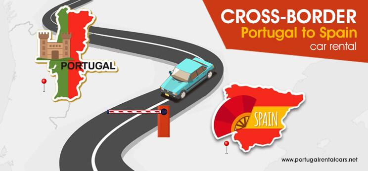 Portugal to Spain Cross-Border Car Rental